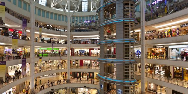 Shopping Center, Kuala Lumpur, Malaysia