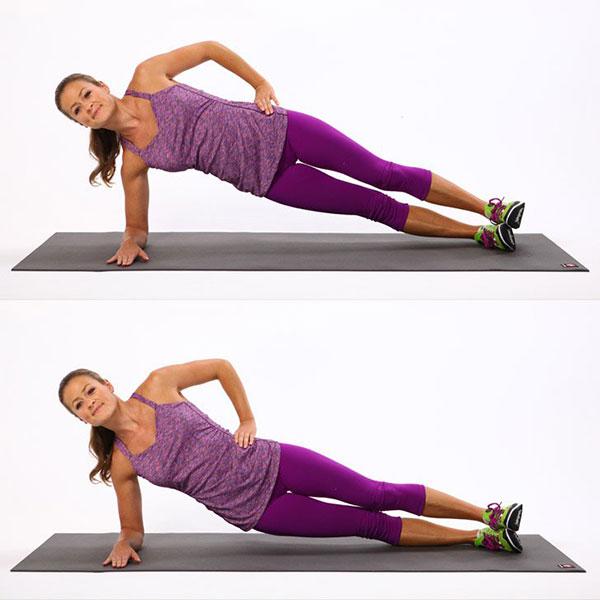 Side-Plank-Dips
